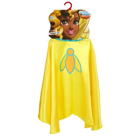 DC Super Hero Girls Bumblebee Cape Costume