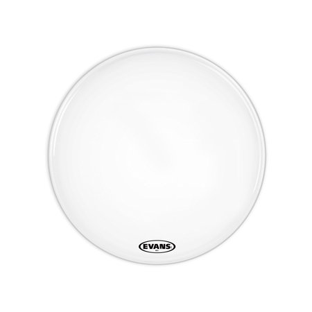 evans ms1 white marching bass drum head 14 inch. Black Bedroom Furniture Sets. Home Design Ideas