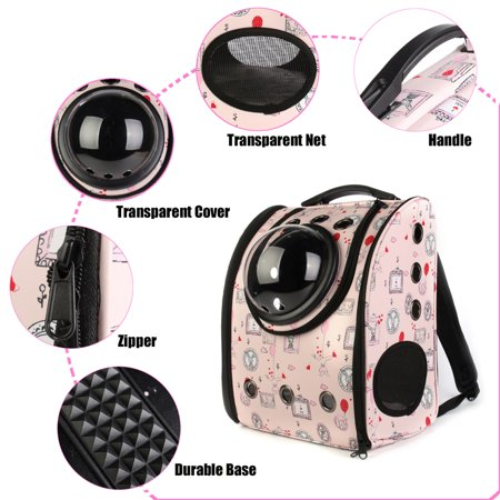 680044a3eb Space Astronaut Capsule Pet Cat Dog Puppy Carrier Travel Bag Space Capsule Backpack  Breathable Cute Rabbit - Walmart.com