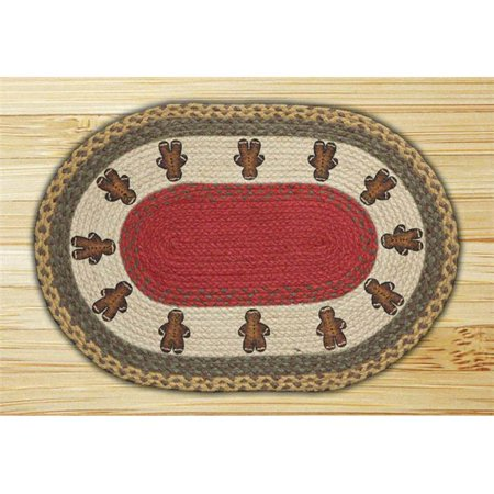 - Capitol Importing  Gingerbread Men - 20 in. x 30 in. Oval Patch
