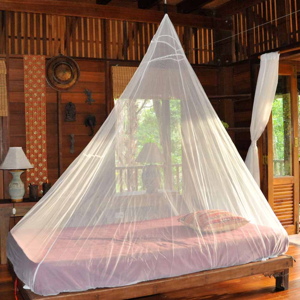 Cocoon Single Travel Mosquito Net with or without Insect Shield