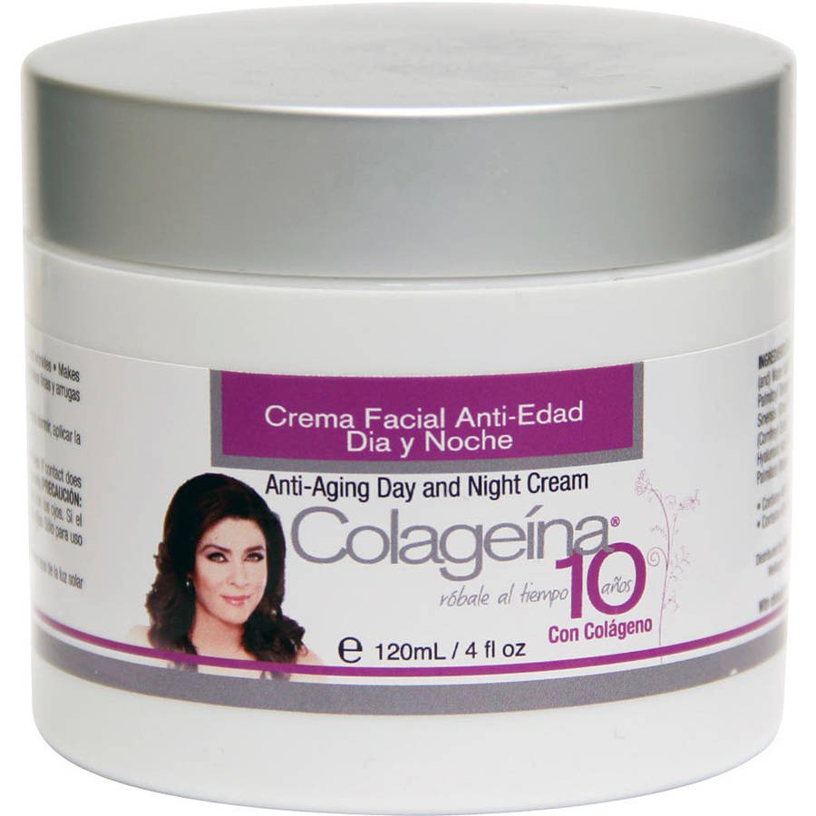 Colageina 10 Anti-Aging Day and Night Cream, 4 fl oz by Generic