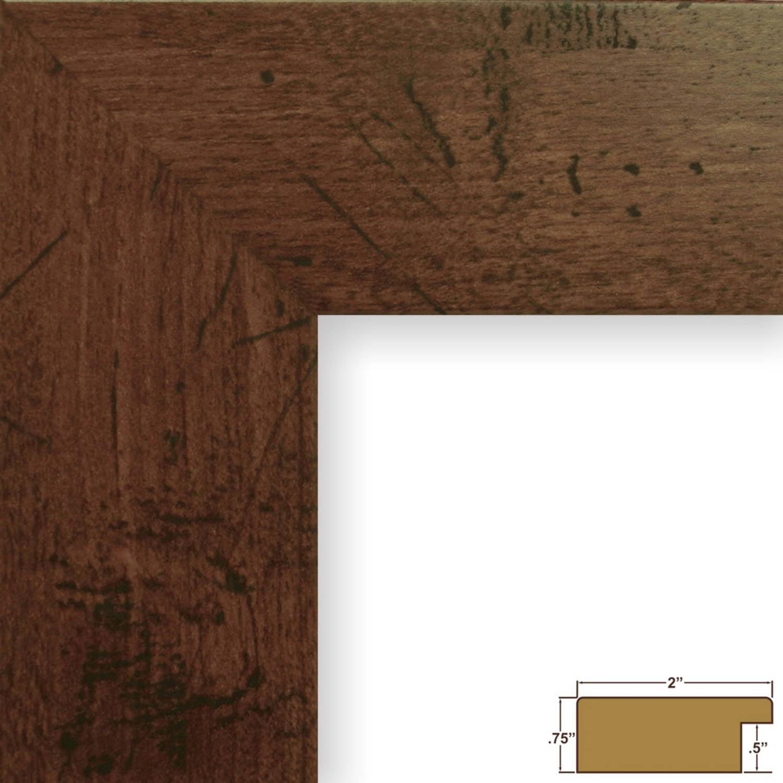 Bauhaus Modern Dark Walnut Picture Frame - Walmart.com