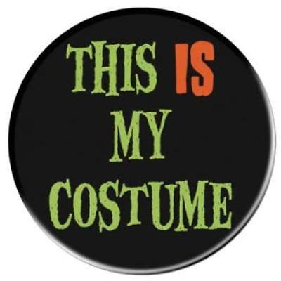 This Is My Costume Halloween Button, 5PK](Notre Lewis Halloween)