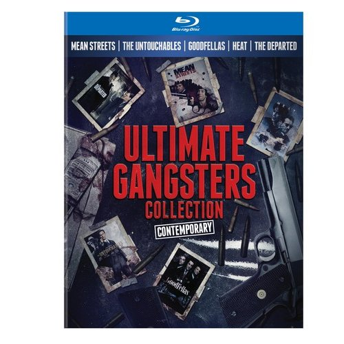 Ultimate Gangsters Collection: Contemporary - Mean Streets / The Untouchables / Goodfellas / Heat / The Departed (Blu-ray + Book) (Widescreen)