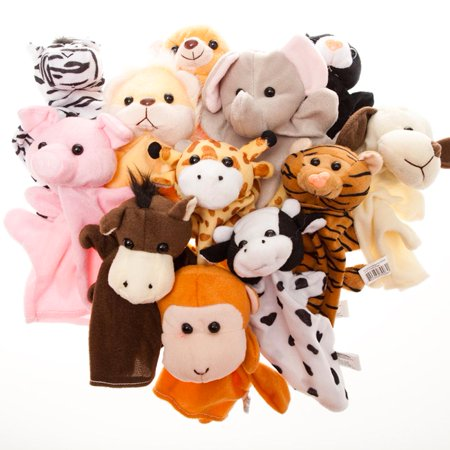 Animal Hand Puppets (Zombie Baby Puppet)