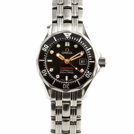 Pre-Owned Omega Seamaster 212.30.2 Steel Women Watch (Certified Authentic & Warranty)