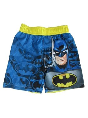 721ad1e710 Product Image Dc Comics Little Boys Blue Batman Swim Shots