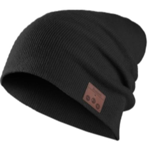 Mountain VG001-BK Bluetooth Knit Beanie - Black