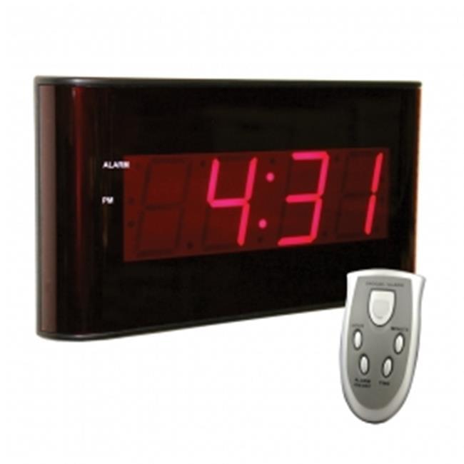 Sper Scientific 810010 Wall Clock - Large Display LED