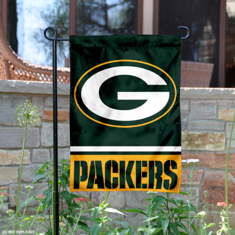 "Green Bay Packers 12.5"" x 18"" Large NFL Garden Flag"