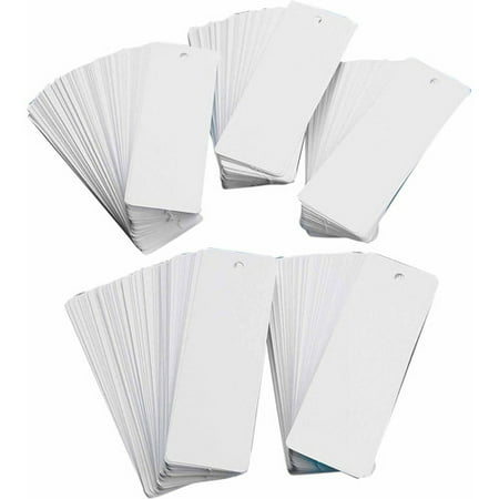 White Bookmarks Value Pack  Pack Of 500
