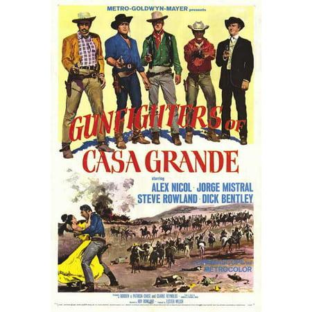 Gunfighters of Casa Grande POSTER Movie Mini - Decorar Halloween Casa