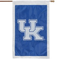 "Kentucky Wildcats 28"" x 44"" Applique Flag"