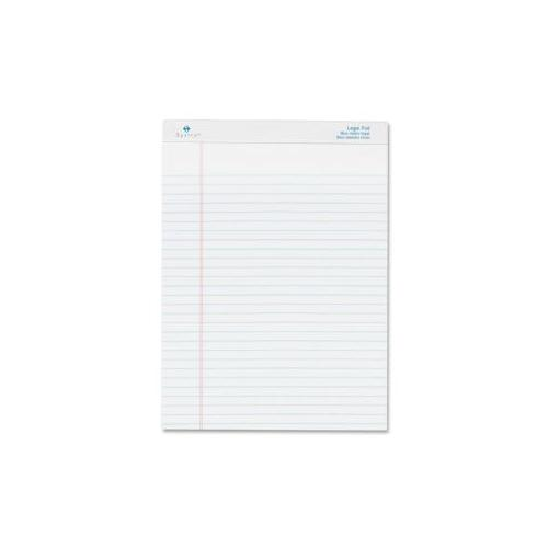 SPARCO PRODUCTS Pad,Micro-Perforated,Wide Rld,50 Sh,8-1/2x11-3/4,12/DZ,WE