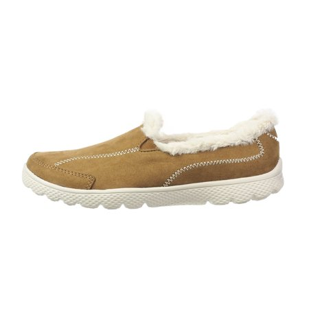 Danskin Now Women's Faux Fur Athletic Slip-On Shoe