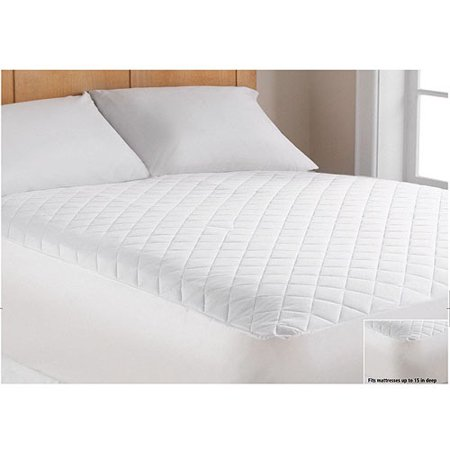 mainstays super soft mattress pad 1 each. Black Bedroom Furniture Sets. Home Design Ideas