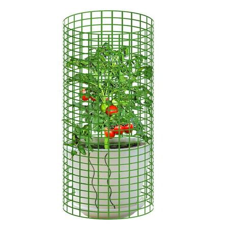 V protek Garden Tower Tomato Plant Cage Climbing Plant Protector Heavy Duty 19.68