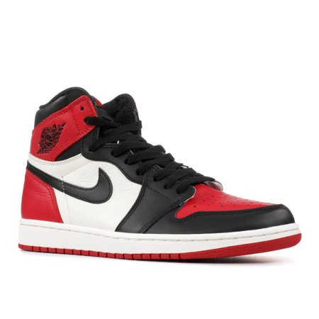 cheaper 58952 e673e Air Jordan - Men - Air Jordan 1 Retro High Og 'Bred Toe' - 555088-610 -  Size 10 | Walmart Canada