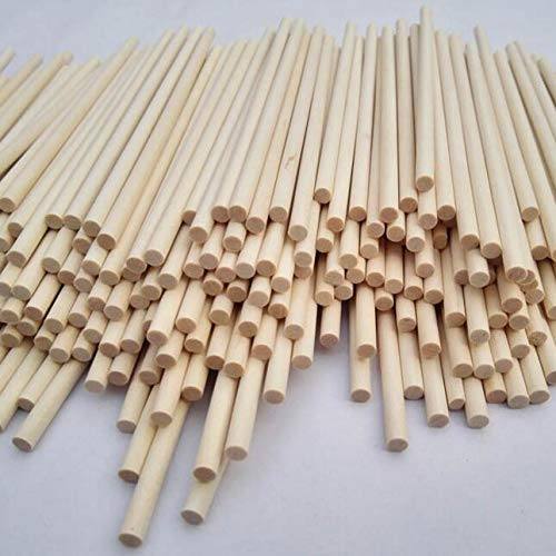 Wooden Dowel Rods 1/4
