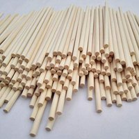 "Wooden Dowel Rods 1/4"" x 12"" - Bag of 25 by WOODNSHOP"