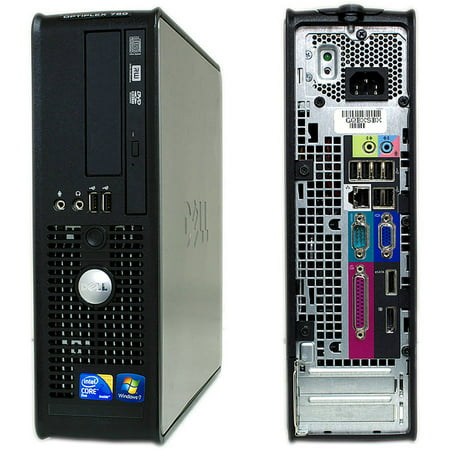 Refurbished Dell 780 Sff Desktop Pc With Intel Core 2 Duo Processor  8Gb Memory  2Tb Hard Drive And Windows 10 Pro  Monitor Not Included