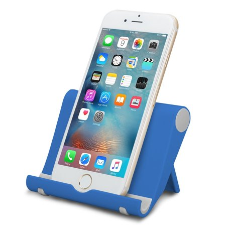 Tablet and Cell Phone Stand Holder, Multi-Angle, Durable, Anti-Slip, Landscape and Portrait, made for: Apple iPad, iPhone, Kindle, Samsung Galaxy (Spider Monkey Ipad Holder)