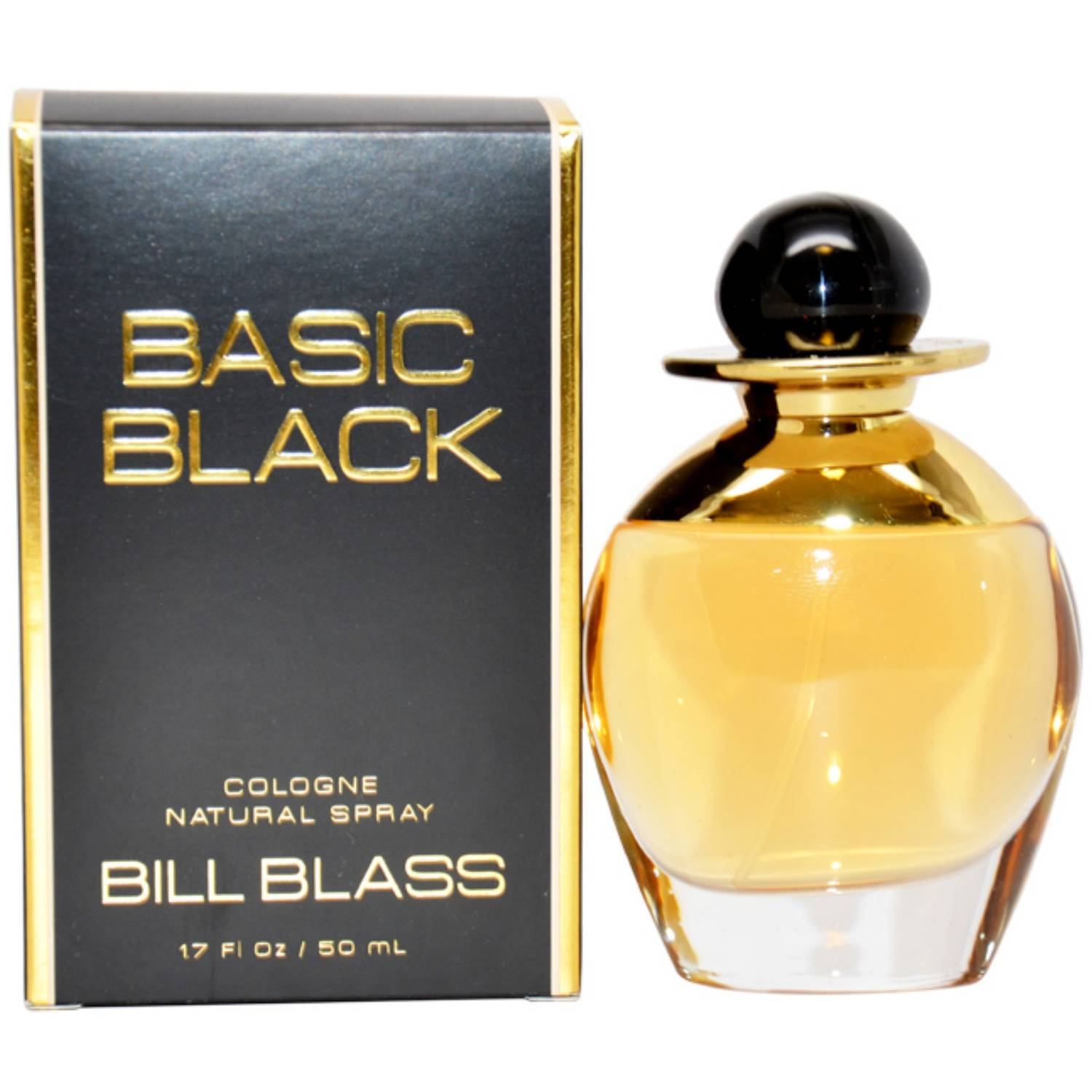 Bill Blass Basic Black for Women Cologne Spray, 1.7 oz