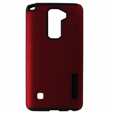Incipio DualPro Series Dual Layer Case Cover for LG Stylo 2 - Dark Red / Black ()