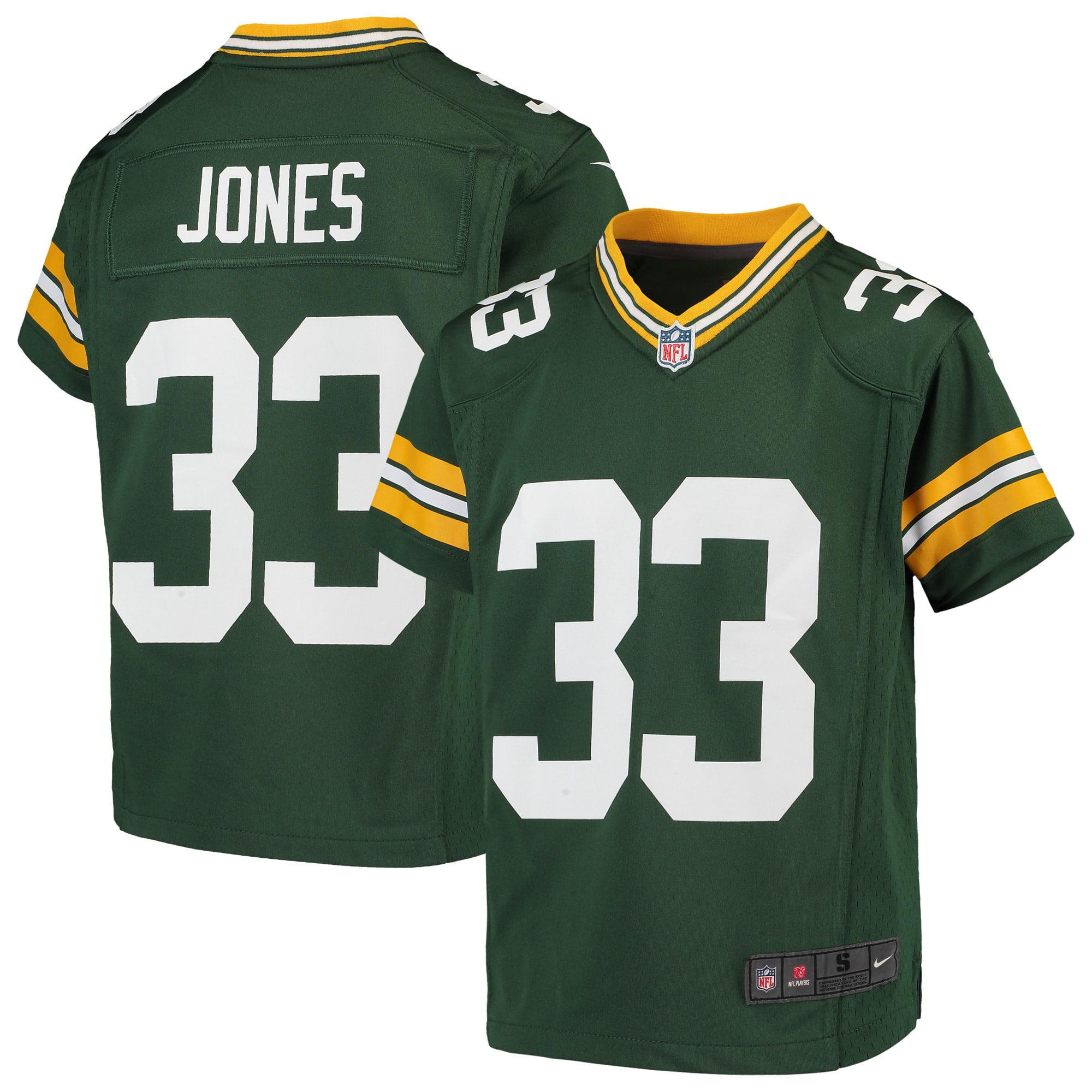 Aaron Jones Green Bay Packers Nike Youth Game Jersey - Green - Walmart.com