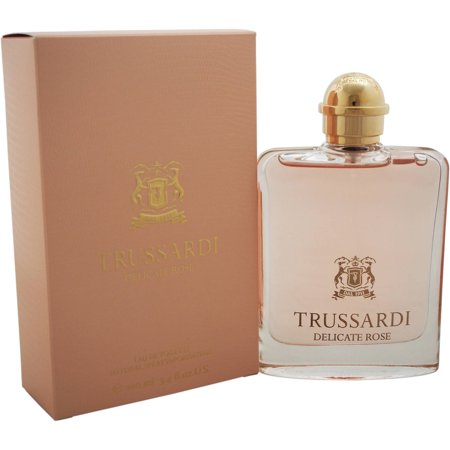Image of Trussardi Delicate Rose by Trussardi for Women, 3.4 oz