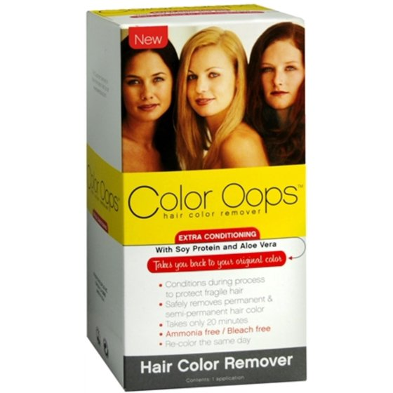 Color Oops Hair Color Remover Extra Conditioning 1 Each Pack Of 2