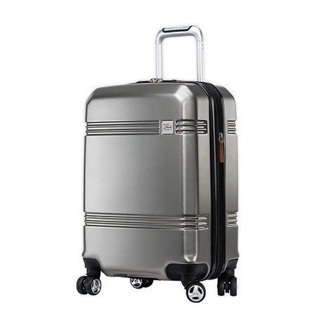 Skyway Glacier Bay 20-Inch Hardside Spinner Carry-On in Silver