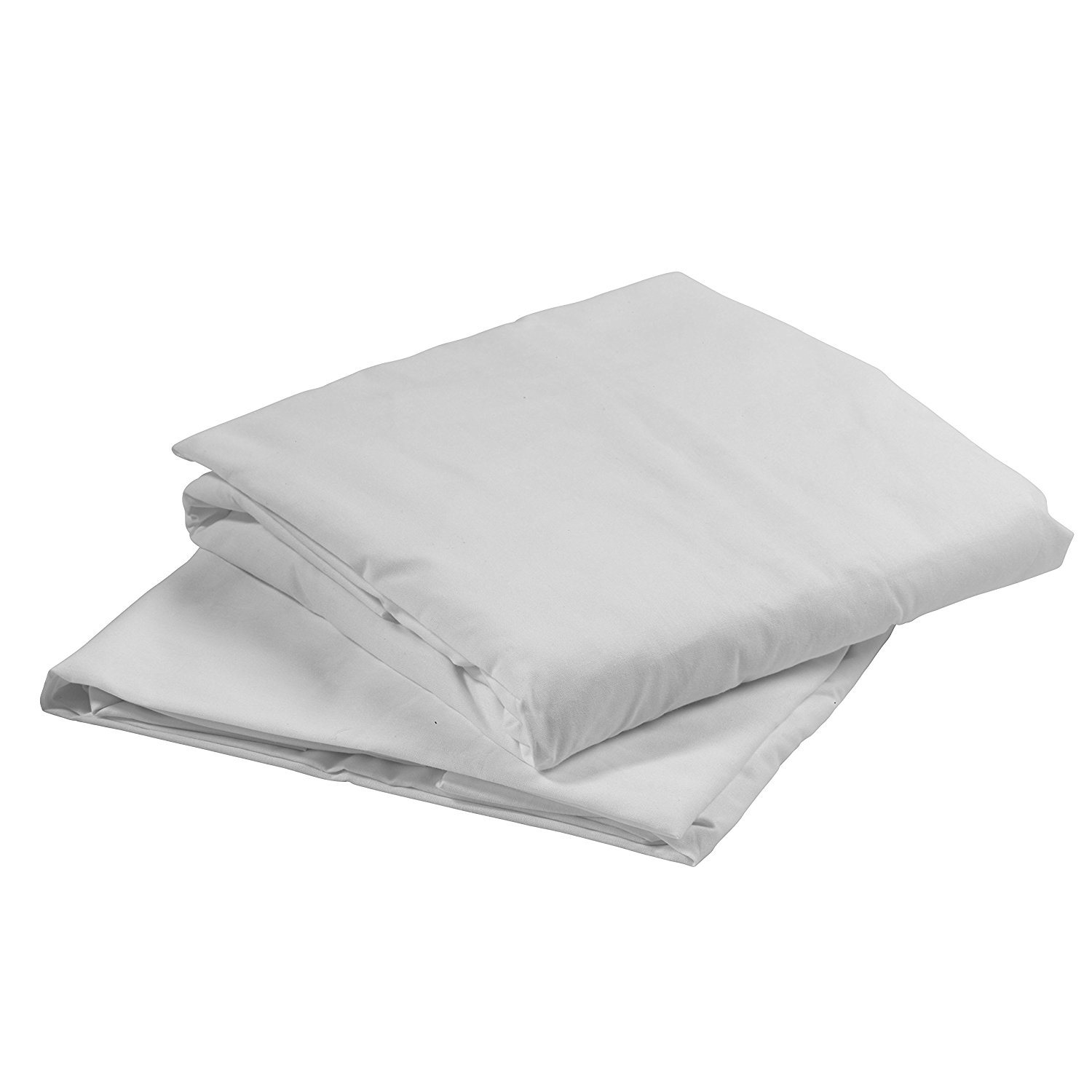"""15030HBL Hospital Bed Fitted Sheets, White, 36"""" x 80"""" x 5..."""