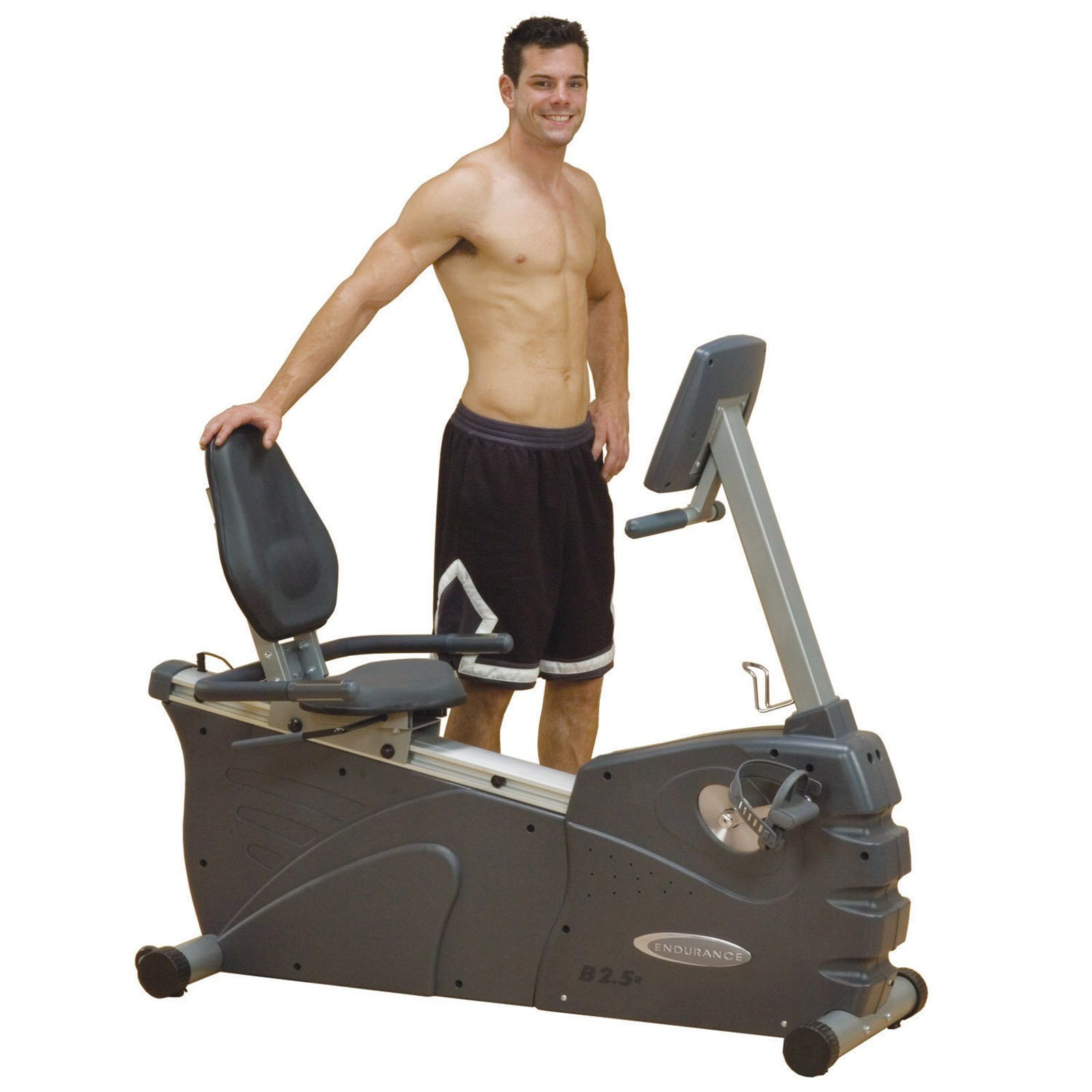Body-Solid Endurance B2.5R Electronic Commercial Recumbent Bike