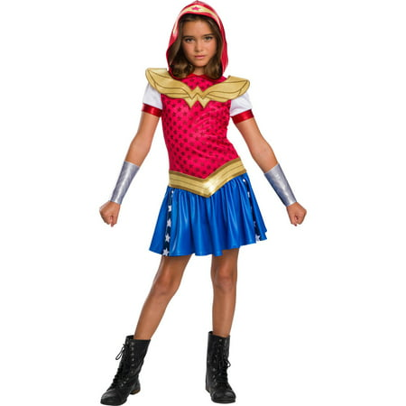 Dc Super Hero Girls Wonder Woman Hoodie Dress](Popular Female Superheroes)