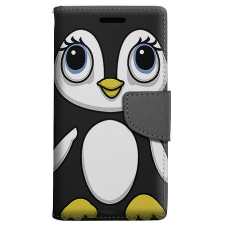hot sale online 7b655 d1455 Motorola Moto Z Droid Wallet Case - Penguin Case - Walmart.com