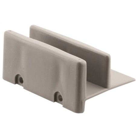- Prime-Line M 6192 Sliding Shower Door Bottom Guide, 1/2 in. Channel, Plastic Construction, Gray, 2-Fastener Installation, Pack of 2