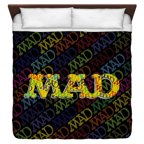 Mad So Much Mad King Duvet Cover White 104X88