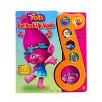 DreamWorks Trolls - Get Back Up Again Little Music Note Sound Book - Play-A-Song - Pi Kids (Other)