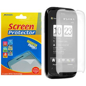 Clear Screen Protector Scratch Guard Shield for Sprint HTC Touch Pro 2