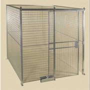 FOLDING GUARD P8 Wire Partition Post,8 ft