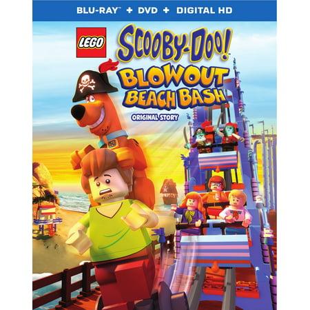 LEGO Scooby-Doo! Blowout Beach Bash (Blu-ray + DVD + Digital HD) (Halloween Blowout)