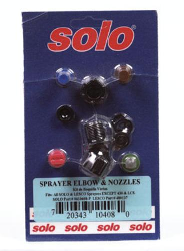 Solo 0610408-P Sprayer Nozzle Kit, Plastic by SOLO INC