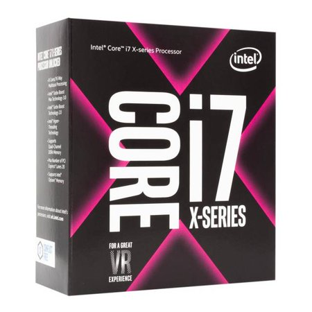 Intel Core i7-7800X X-series Skylake Processor 3.5GHz 8.0GT/s 8.25 MB L3 LGA 2066 CPU,