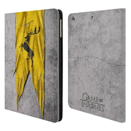Official Hbo Game Of Thrones Sigil Flags Leather Book Wallet Case Cover For Apple Ipad
