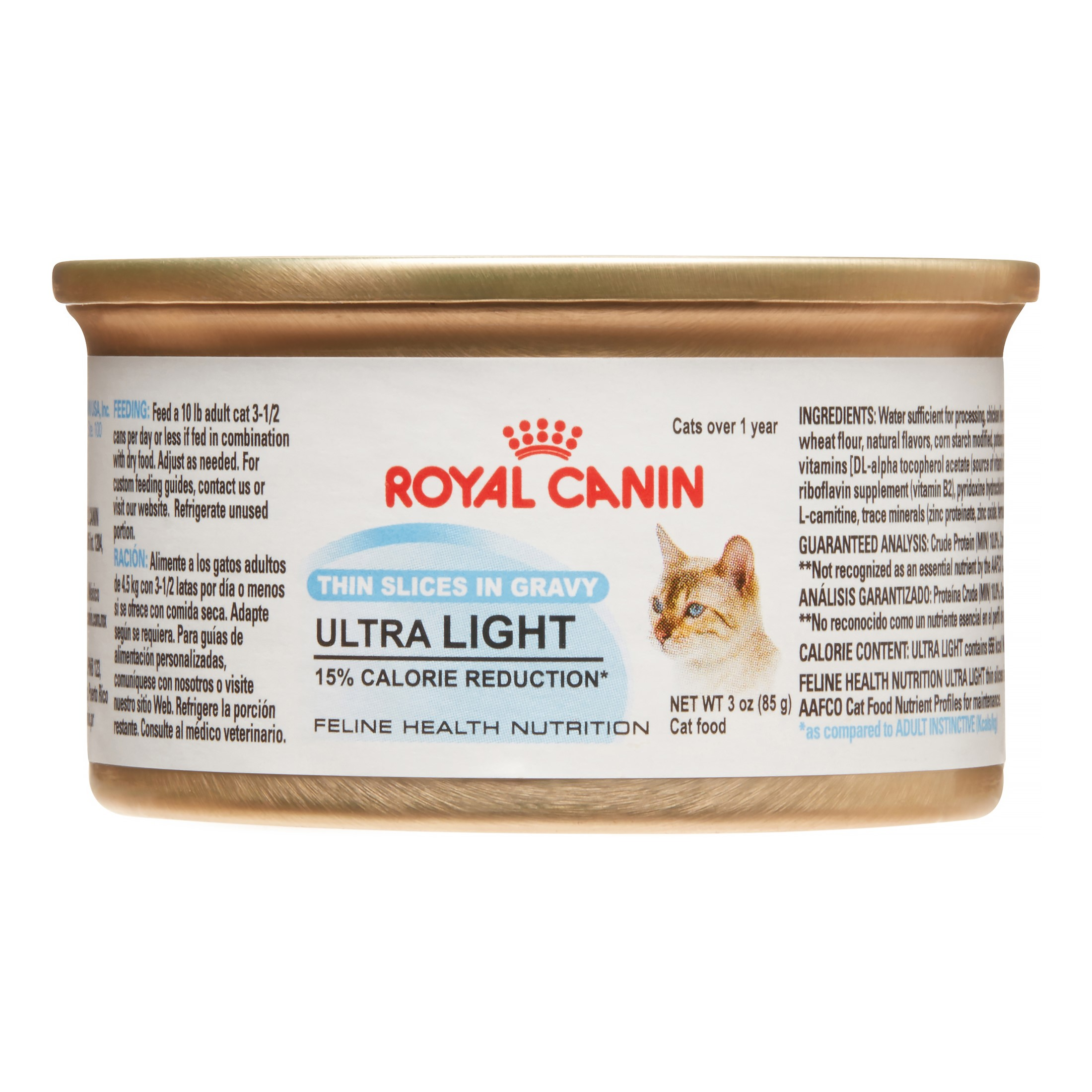 Royal Canin Feline Health Nutrition Ultra Light Wet Cat Food, 3 Oz (Case of 24)