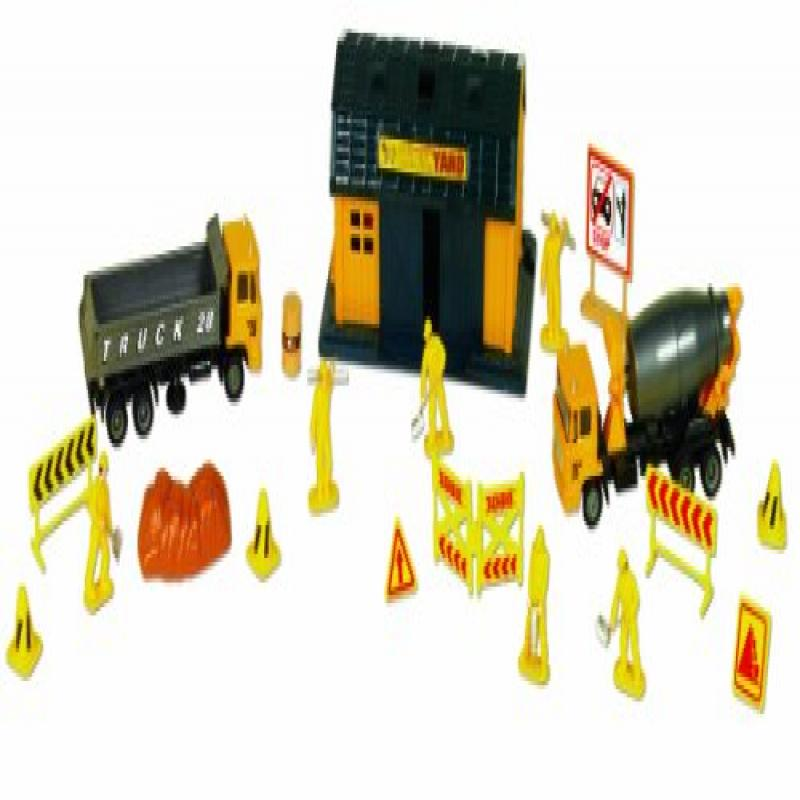 Click here to buy Small World Toys Vehicles Construction Site 20 Pc. Playset.