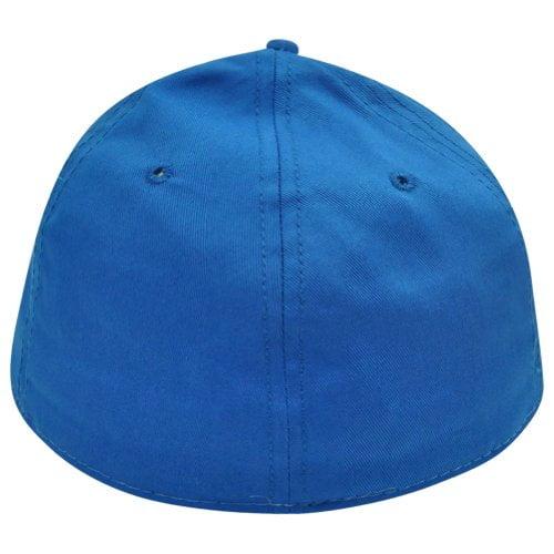12ebc3fbeede Sesame Street Cookie Monster Big Face Flat Bill Brim Fitted Stretch L/XL  Hat Cap