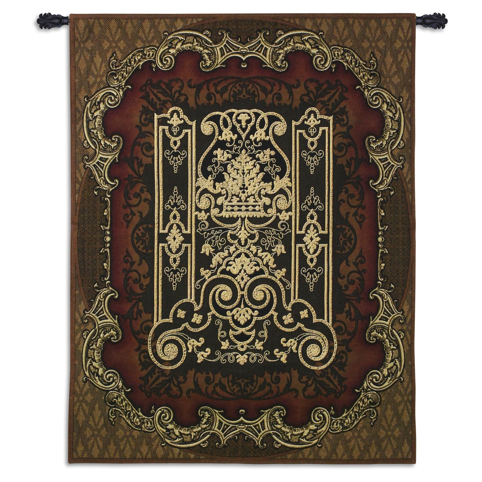 Click here to buy Fine Art Tapestries Filigree Medallion Wall Tapestry by Supplier Generic.